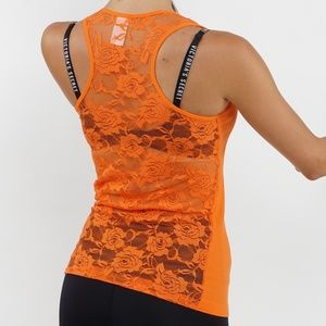 Tops - 2/$26 3/$36 tank Top with racer back and mesh